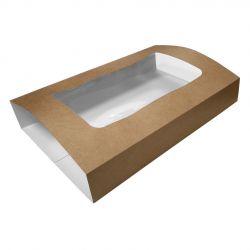Caja para bandejas para catering 367 x 257 x 78mm (25 uds)
