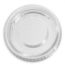 Tapas PET para envases para salsas Kraft Ø62mm (2.500 uds)