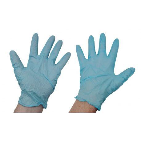 Guantes Nitrilo ECO-BLUE Talla M (100 uds)