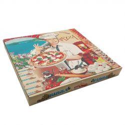 Caja Pizza 240 x 240 x 40mm (100 uds)