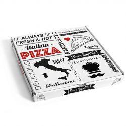 Caja Pizza 330 x 330 x 35mm (100 uds)