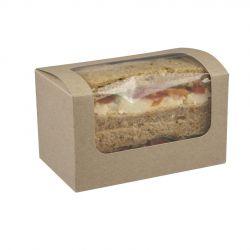 Caja sándwich 125 x 77 x 72mm (500 uds)