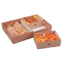 Bandejas separadoras para cajas de catering 153 x 221 x 77mm (50 uds)