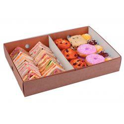 Bandejas separadoras para cajas de catering 306 x 221 x 77mm (50 uds)