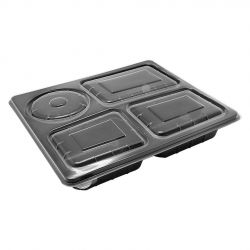 Envases Catering PP 290 x 240 x 50mm (150 uds)