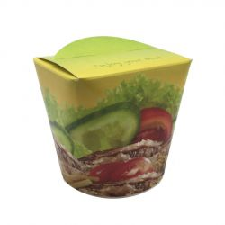 Envases multifood línea Take Away Döner 750ml (500 uds)