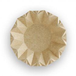 Bols de cartón Kraft 160 x 160 x 100 mm (800 uds)