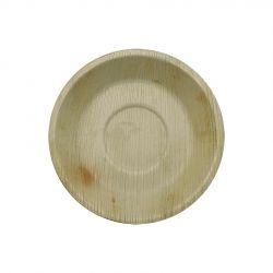 Platos de hoja de Palma Redondos 180mm (100 uds)