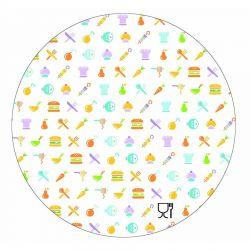Tapa para Envase circular de aluminio 1440cc 199mm (500 uds)