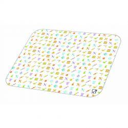 Tapa para envase rectangular de aluminio 600cc 135 x 185mm (600 uds)