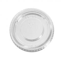 Tapa PET para Envases salsas Ø 74mm (2.500 uds)