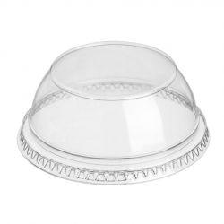 Tapas cúpula plana cerrada Ø 92mm PET Ultratransparente (1.000 uds)