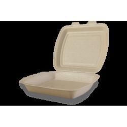 Envases Portamenú 1 compartimento de XPP 240 x 210 x 70mm (200 uds)