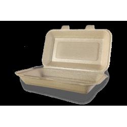 Envases Sándwich Grande de XPP 210 x 155 x 70mm (250 uds)