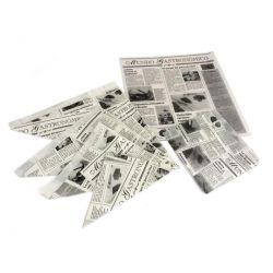 """Hojas antigrasa """"News"""" 29 x 30cm (1.000 uds)"""
