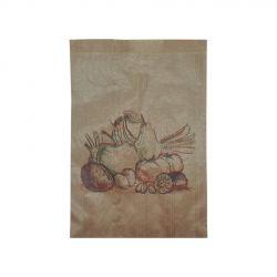 Bolsa de Papel Frutería Antihumedad 14 + 9 x 21cm (1.000 uds)